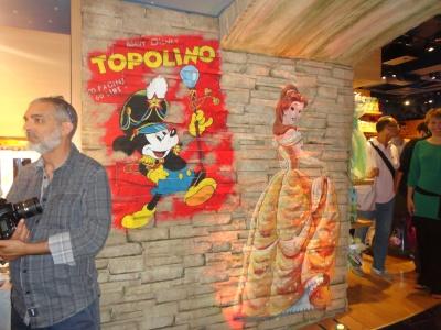 Inaugura il Disney Store in via Ruggero Settimo