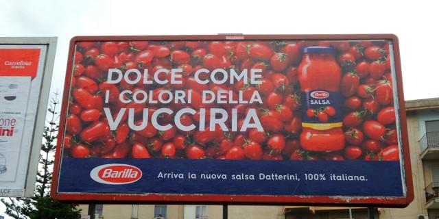 """""""Dolce come..."""" la pubblicità adattata con la """"sicilianitudine"""" della Barilla"""