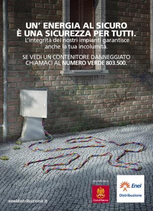 Campagna Enel sulla sicurezza degli impianti di distribuzione