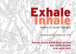 """Javier Garcerá - """"Exhale - Inhale"""""""