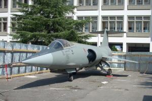 Lockheed F-104 Starfighter alla Facoltà di Ingegneria - Università degli Studi di Palermo