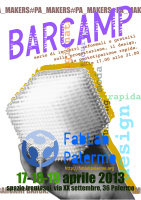 "Barcamp ""FabLab Palermo"""