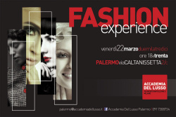 """Fashion experience"""