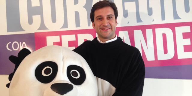 L'ex deputato dell'Ars Ferrandelli si traveste da Kung Fu Panda