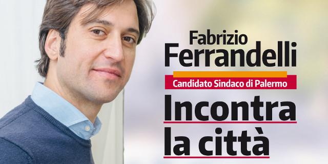 Ferrandelli ha aperto la campagna elettorale Al Politeama Multisala