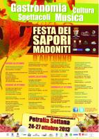 """""""Festa dei Sapori Madoniti d'Autunno"""""""