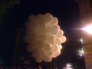 Palloncini ripieni di elio