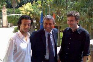 Salvo Ficarra, Diego Cammarata e Valentino Picone