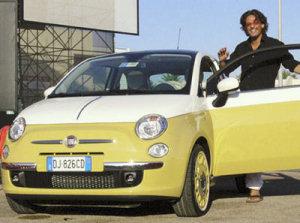 Fiorello e la Fiat 500