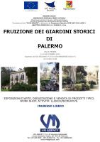 """""""Fruizione dei giardini storici di Palermo"""""""
