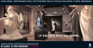 Inaugurazione della nuova Galleria d'Arte Moderna