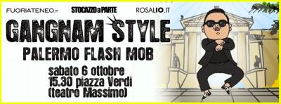 """Gangnam style"": sabato il flash mob al Teatro Massimo"