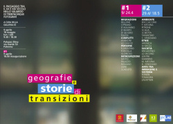 """Geografie e storie di transizioni"""