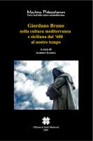 """Alberto Samonà - """"Giordano Bruno nella cultura mediterranea e siciliana dal '600 al nostro tempo"""""""