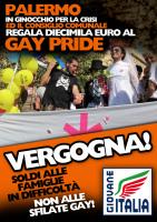 """Diecimila euro dal Comune per il """"Gay Pride"""", protesta Giovane Italia"""