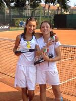 Giulia La Rocca e Lisa Piccinetti