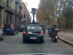 """Google car"" a Palermo"