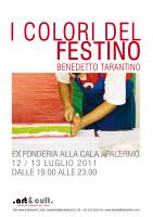 """Benedetto Tarantino - """"I colori del Festino"""""""