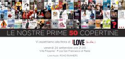 Festa per la cinquantesima copertina di I love Sicilia a Villa Filippina
