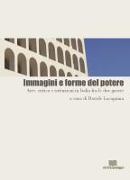 """Davide Lacagnina (a cura di) """"Immagini e forme del potere"""""""