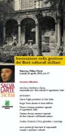 """""""Innovazione nella gestione dei Beni culturali siciliani"""""""