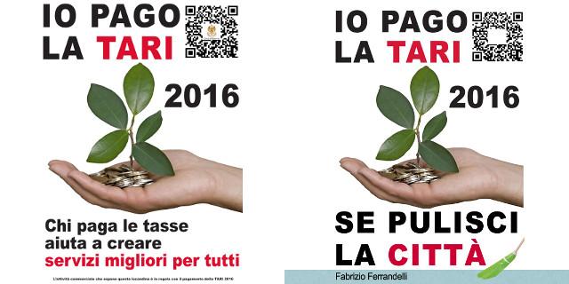 Il Comune distribuisce adesivi ai locali in regola con la Tari, Ferrandelli provoca