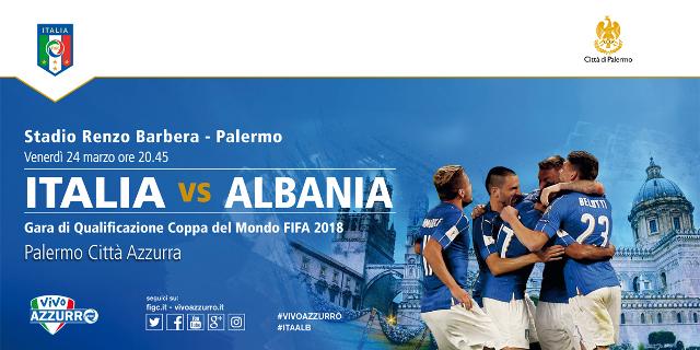 Stasera Italia - Albania per le qualificazioni dei Mondiali al Barbera