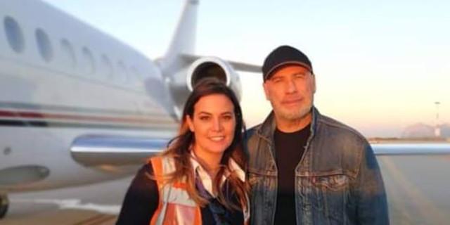Avvistato John Travolta all'Aeroporto di Palermo