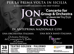 Jon Lord (Deep Purple) al teatro Golden
