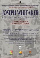 """Si proietta """"Joseph Whitaker"""" al Centro sperimentale di cinematografia"""