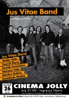 Debutta al cinema Jolly la Jus Vitae band