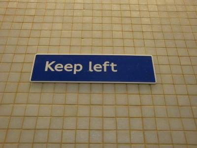 """«Keep left"""""""