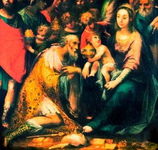 """Pietro D'Asaro""""L'Adorazione dei Magi"""""""