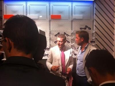 Inaugurato da Lapo Elkann Italia Independent in via Parisi
