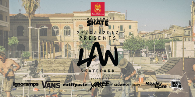 Inaugurato il Law Park, il primo parco skateboard pubblico di Palermo