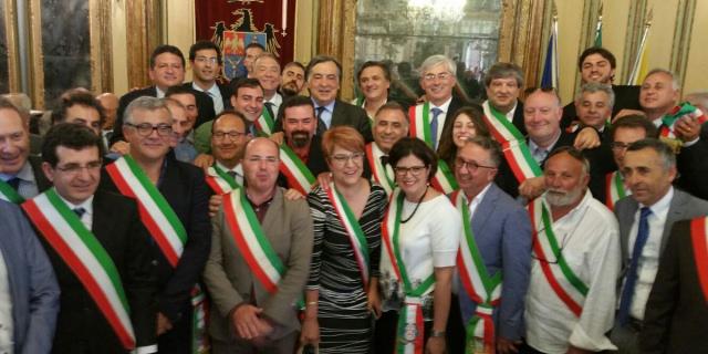 Orlando si è insediato come sindaco della città metropolitana di Palermo