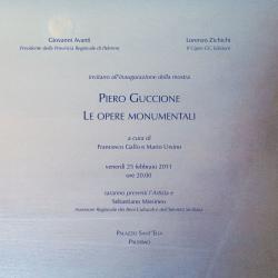 """Piero Guccione - """"Le opere monumentali"""""""