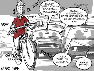 In bicicletta a Palermo