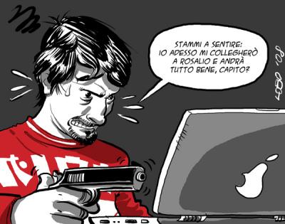 Problemini tecnici (Tony stai calmo...)