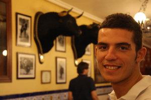 In un bar tipico di Siviglia