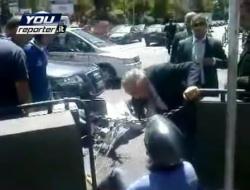 Raffaele Lombardo soccorritore, il video