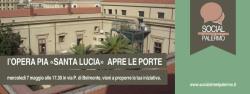 L'opera pia Santa Lucia apre le porte a Social street Palermo
