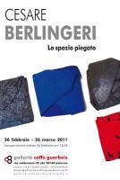 """Cesare Berlingeri - """"Lo spazio piegato"""""""