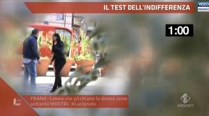 Lucignolo fa il test dell'indifferenza a Palermo