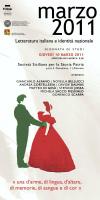 """""""Marzo 2011 - Letteratura italiana e identità nazionale"""""""