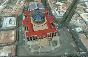 Il Teatro Massimo in 3D su Google earth