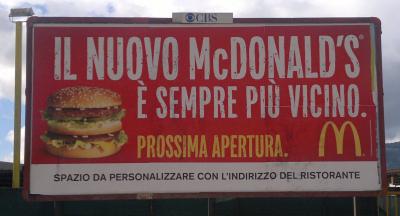 McDonald's - I'm missin' it
