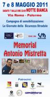 """""""Giornate della Sicurezza stradale - Memorial Antonio Mistretta"""""""