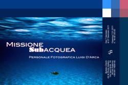 """Luigi D'Arca - """"Missione subacquea"""""""