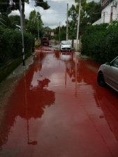 Mondello in rosso